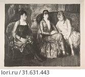 Купить «Marjorie, Emma and Elsie, 1921, Lithograph, image: 11 1/4 x 13 3/4 in. (28.6 x 34.9 cm), Prints, George Bellows (American, Columbus, Ohio 1882–1925 New York)», фото № 31631443, снято 26 апреля 2017 г. (c) age Fotostock / Фотобанк Лори