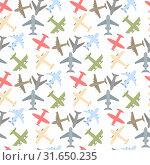 Plane icon set. Стоковая иллюстрация, иллюстратор Альдана Прокофьева / Фотобанк Лори