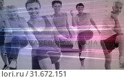 Купить «Fitness Composition», видеоролик № 31672151, снято 30 сентября 2018 г. (c) Wavebreak Media / Фотобанк Лори