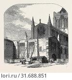 LADY CHAPEL OF HEXHAM CHURCH, PROPOSED FOR RESTORATION, 1852 (2013 год). Редакционное фото, фотограф Artokoloro / age Fotostock / Фотобанк Лори