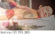 Купить «Woman getting a massage», видеоролик № 31701383, снято 6 ноября 2018 г. (c) Wavebreak Media / Фотобанк Лори