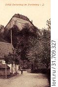 Schloss Sachsenburg, 1911, Landkreis Mittelsachsen, Sachsenburg, Schloß, Germany (2019 год). Редакционное фото, фотограф Copyright Liszt Collection / age Fotostock / Фотобанк Лори