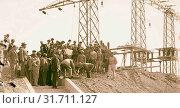 P.E.C., Palestine Electric Corporation, Rutenberg plant. 1927, Jordan (2018 год). Редакционное фото, фотограф © Liszt Collection / age Fotostock / Фотобанк Лори