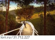Bridges in Landkreis Mittelsachsen, Frankenberg/Sa., 1915, Landkreis Mittelsachsen, Frankenberg, Eingang zum Lützeltal, Germany (2019 год). Редакционное фото, фотограф Copyright Liszt Collection / age Fotostock / Фотобанк Лори