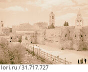 Bethlehem. Church of the Nativity 1945, West Bank, Israel (2018 год). Редакционное фото, фотограф © Liszt Collection / age Fotostock / Фотобанк Лори