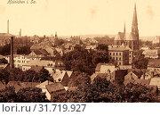 Buildings in Hainichen, Churches in Hainichen, 1915, Landkreis Mittelsachsen, Hainichen, Germany (2019 год). Редакционное фото, фотограф Copyright Liszt Collection / age Fotostock / Фотобанк Лори
