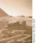 Pyramid. 1898, Egypt (2018 год). Редакционное фото, фотограф © Liszt Collection / age Fotostock / Фотобанк Лори