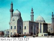 Cairo. Cairo, Mosque of Mahmoudieh. 1950, Egypt, Cairo (2018 год). Редакционное фото, фотограф © Liszt Collection / age Fotostock / Фотобанк Лори