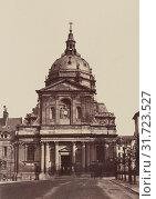 Chapelle de la Sorbonne (No. 69), Édouard Baldus (French, born Germany, 1813 - 1889), Paris, France, 1860s, Albumen silver print (2018 год). Редакционное фото, фотограф © Liszt Collection / age Fotostock / Фотобанк Лори