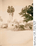 Jaffa (Joppa) and environs. Tabitha's Well 1900, Israel, Tel Aviv (2018 год). Редакционное фото, фотограф © Liszt Collection / age Fotostock / Фотобанк Лори