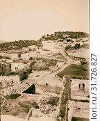Samaria from church of St. John 1900, Israel, Sabastiyah (2018 год). Редакционное фото, фотограф © Liszt Collection / age Fotostock / Фотобанк Лори