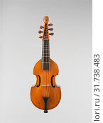 Купить «Treble Viol, 1730, Toulouse, France, French, Wood, Height: 13 7/8 in. (35.3 cm), Chordophone-Lute-bowed-fretted, Cabroly (Italian (active France), Toulouse, France, active ca. 1730–1749)», фото № 31738483, снято 29 апреля 2017 г. (c) age Fotostock / Фотобанк Лори