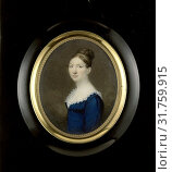 Suzanna de Roth (1789-1822), wife of Jonkheer Isaäc Pierre Graafland (1789-1825), justice of the Supreme Court of Suriname, Anonymous, c. 1820 (2014 год). Редакционное фото, фотограф Artokoloro / age Fotostock / Фотобанк Лори