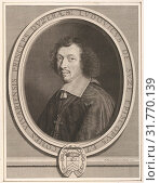 Louis-François de la Baume de Suze, 1656, Engraving, first state of four [?] (Petitjean & Wickert), Sheet: 12 1/2 × 9 11/16 in. (31.8 × 24.6 cm), Prints... (2017 год). Редакционное фото, фотограф © Copyright Artokoloro Quint Lox Limited / age Fotostock / Фотобанк Лори