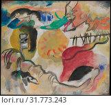 Купить «Improvisation 27 (Garden of Love II), 1912, Oil on canvas, 47 3/8 x 55 1/4 in. (120.3 x 140.3 cm), Paintings, Vasily Kandinsky (French (born Russia), Moscow...», фото № 31773243, снято 29 апреля 2017 г. (c) age Fotostock / Фотобанк Лори