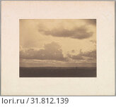 Etude de ciel, 1855–56, Salted paper print from glass negative, Image: 16 x 21 cm (6 5/16 x 8 1/4 in.), Photographs, Charles Marville (French, Paris 1813–1879 Paris) (2017 год). Редакционное фото, фотограф © Copyright Artokoloro Quint Lox Limited / age Fotostock / Фотобанк Лори