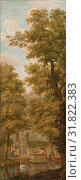 Купить «Three wall hangings with a Dutch landscape, attributed to Jurriaan Andriessen, 1776», фото № 31822383, снято 24 ноября 2011 г. (c) age Fotostock / Фотобанк Лори