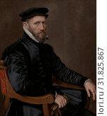 Купить «Portraits of Sir Thomas Gresham and Anne Fernely, Anthonis Mor, c. 1560 - c. 1565», фото № 31825867, снято 3 декабря 2014 г. (c) age Fotostock / Фотобанк Лори
