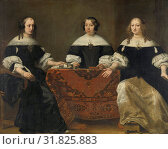 Купить «Portrait of the Three Regentesses of the Leprozenhuis, Amsterdam, The Netherlands, Ferdinand Bol, c. 1668», фото № 31825883, снято 17 ноября 2014 г. (c) age Fotostock / Фотобанк Лори