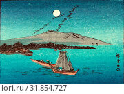 Купить «Fukeiga, between 1900 and 1940, from an earlier print, Ando, Hiroshige, 1797-1858», фото № 31854727, снято 26 июля 2013 г. (c) age Fotostock / Фотобанк Лори