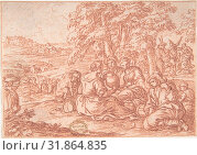 Купить «August (one of a series representing the labors of the months), 1690 or slightly earlier, Red Chalk, 3 5/16 x 4 3/4 in. (8.4 x 12.1 cm), Drawings, Jonas Umbach (German, Augsburg 1624–1693 Augsburg)», фото № 31864835, снято 21 мая 2017 г. (c) age Fotostock / Фотобанк Лори