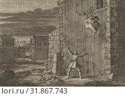 Купить «Countess of Aubigny escaped from her prison in London by jumping out of the window, 1643, Jan Luyken, Pieter van der Aa (I), 1698», фото № 31867743, снято 27 ноября 2014 г. (c) age Fotostock / Фотобанк Лори