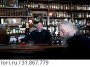 Ireland, Abbeyleix, located on main street, one of the most ancients and famous pub, Morrissey. (2018 год). Редакционное фото, фотограф Sylvain Grandadam / age Fotostock / Фотобанк Лори