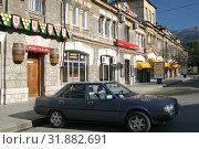 Купить «Крым, Ялта. Улица Старого города», эксклюзивное фото № 31882691, снято 15 мая 2005 г. (c) Дмитрий Неумоин / Фотобанк Лори
