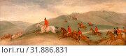 Купить «Foxhunting: Road Riders or Funkers, Richard Barrett Davis, 1782-1854, British», фото № 31886831, снято 7 августа 2014 г. (c) age Fotostock / Фотобанк Лори