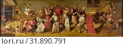 Купить «The Battle between Carnival and Lent, manner of Jheronimus Bosch, c. 1600 - c. 1620», фото № 31890791, снято 16 ноября 2014 г. (c) age Fotostock / Фотобанк Лори
