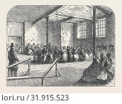 Купить «THE COTTON FAMINE: WAITING ROOM AT THE DISTRICT PROVIDENT INSTITUTION, MANCHESTER, 1862», фото № 31915523, снято 3 января 2013 г. (c) age Fotostock / Фотобанк Лори