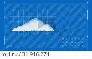 Animation of a moving stock prices. Стоковое видео, агентство Wavebreak Media / Фотобанк Лори