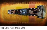 Купить «Film strip on religion», видеоролик № 31918295, снято 13 февраля 2019 г. (c) Wavebreak Media / Фотобанк Лори