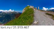 Mannlichen viewpoint, Switzerland (2019 год). Стоковое фото, фотограф Коваленкова Ольга / Фотобанк Лори
