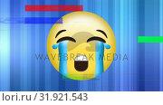Купить «Crying yellow Face emoji», видеоролик № 31921543, снято 5 марта 2019 г. (c) Wavebreak Media / Фотобанк Лори