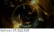 Купить «Beer poured in glass against black background 4k», видеоролик № 31922539, снято 12 июня 2018 г. (c) Wavebreak Media / Фотобанк Лори
