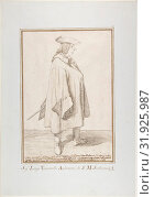 Luigi Vanvitelli, 1674–1755, Pen and brown ink, over traces of graphite or lead, 12 5/8 x 8 9/16in. (32 x 21.8cm), Drawings, Pier Leone Ghezzi (Italian... (2017 год). Редакционное фото, фотограф © Copyright Artokoloro Quint Lox Limited / age Fotostock / Фотобанк Лори