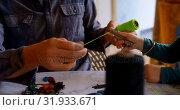 Купить «Father and son holding a thread roll at home 4k», видеоролик № 31933671, снято 28 мая 2018 г. (c) Wavebreak Media / Фотобанк Лори