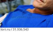 Купить «Male patient relaxing on the bed 4k», видеоролик № 31936543, снято 26 января 2019 г. (c) Wavebreak Media / Фотобанк Лори
