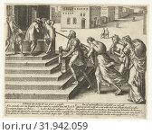 Купить «Who litigates must be shameless, patient and rich, Hendrick Goltzius, 1597», фото № 31942059, снято 28 ноября 2014 г. (c) age Fotostock / Фотобанк Лори