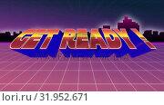 Купить «Get Ready! screen», видеоролик № 31952671, снято 13 июня 2019 г. (c) Wavebreak Media / Фотобанк Лори