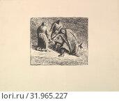 Купить «Vision in the Snow (Erscheinung im Nebel), 1912, Lithograph, image: 10 3/4 x 13 1/4 inches (27.3 x 33.7 cm), Prints, Ernst Barlach (German, Wedel 1870–1938 Rostock)», фото № 31965227, снято 22 апреля 2017 г. (c) age Fotostock / Фотобанк Лори