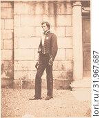 Купить «[Portrait of a Man in Military Regalia], ca. 1859, Salted paper print, 19.5 x 15.2 cm (7 11/16 x 6 in.), Photographs, Horatio Ross (British, Rossie Castle...», фото № 31967687, снято 16 мая 2017 г. (c) age Fotostock / Фотобанк Лори