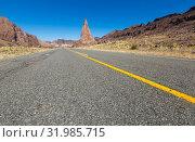 Купить «Views of landscape near RN 25, Patagonia, Argentina», фото № 31985715, снято 29 января 2017 г. (c) Яков Филимонов / Фотобанк Лори