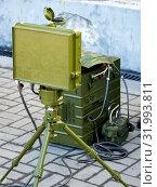 Купить «Радиолокационная станция ближней разведки СРБ-5», фото № 31993811, снято 22 апреля 2019 г. (c) Вячеслав Палес / Фотобанк Лори