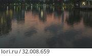 Lumpini Park, Bangkok, Thailand. DEC 2018 (2019 год). Стоковое видео, видеограф Александр Маркин / Фотобанк Лори
