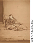 Le Chapelet, 1860s, Albumen silver print from glass negative, 8.9 x 12.4 cm. (3 1/2 x 4 7/8 in.), Photographs, Pierre-Louis Pierson (French, 1822–1913) (2017 год). Редакционное фото, фотограф © Copyright Artokoloro Quint Lox Limited / age Fotostock / Фотобанк Лори
