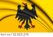 Купить «3D Holy Roman Emperor Flag (Before 1400). 3D Illustration.», фото № 32023215, снято 9 апреля 2020 г. (c) age Fotostock / Фотобанк Лори