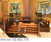 Купить «Imperial throne of Kangxi period, Macau», фото № 32052115, снято 16 сентября 2017 г. (c) Александр Подшивалов / Фотобанк Лори