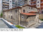 Купить «Holy Church of St. Athanasius, Thessaloniki, Greece», фото № 32063551, снято 17 июня 2019 г. (c) Boris Breytman / Фотобанк Лори